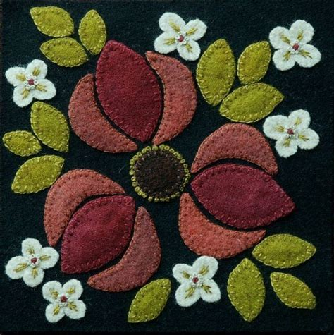 Felt Applique Patterns by 4872 Best Wool Aplique Images On Felt Applique