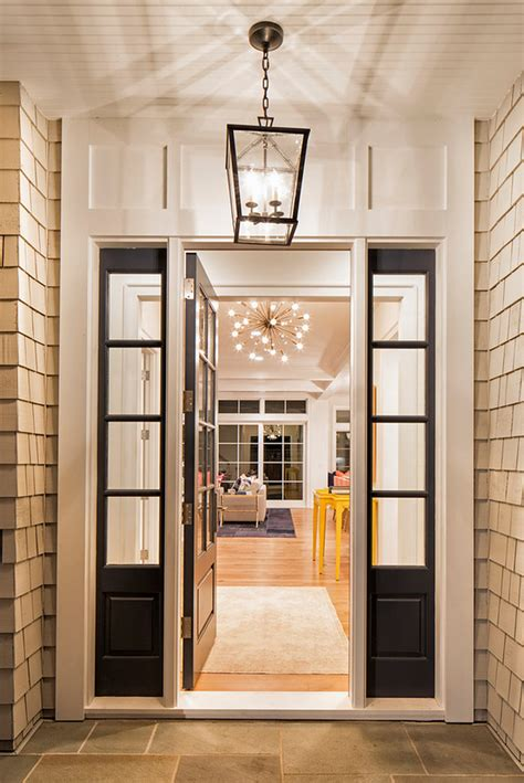 front entrance outdoor lighting shingle style home interior design ideas home bunch