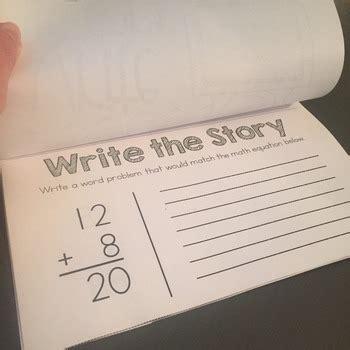 write  story writing math word problems  kayla