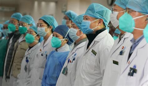 china wuhan hospitals  brink  collapse xi jinpings