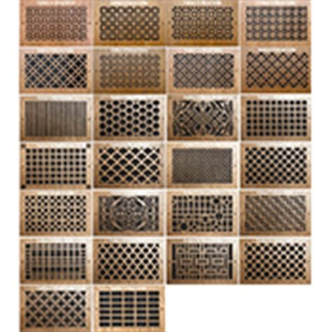 Wood Wall Registers   Decorative Vent