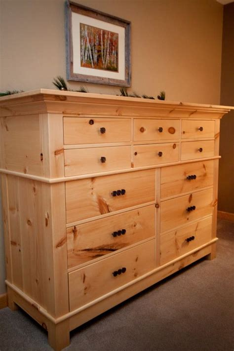 pine wood dresser handmade knotty pine dresser by pin scroll wood