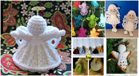 christmas crochet angel ornament  patterns beesdiycom
