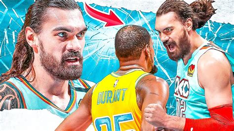 Don't Mess with Steven Adams! - Career Heated Moments ...