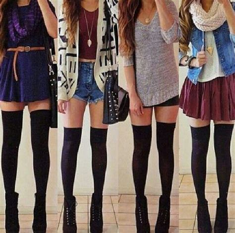 Long socks outfits | Shoes And Cloths | Pinterest | Outfit Long socks outfit and Sock