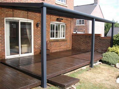 terrace covers polycarbonate glass verandas  samson awnings