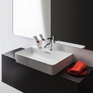 Waschbecken 60 X 60 : laufen val aufsatzwaschtisch 60 x 42 cm 8162830001041 megabad ~ Indierocktalk.com Haus und Dekorationen