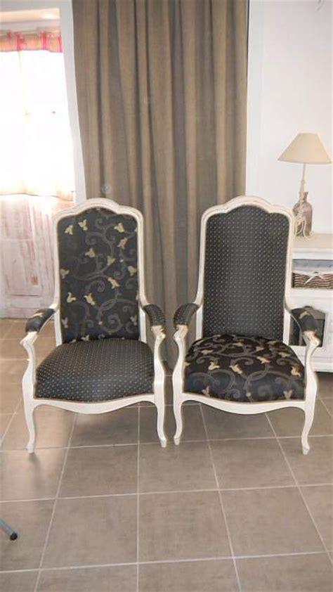 canapé en promo fauteuils voltaire relooké par rue des relookeurs sur rue