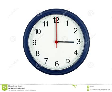 objet de bureau horloge affichant 3 heures photographie stock libre de