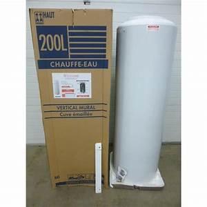 Prix Des Chauffes Eau Electrique : chauffe eau 200l pas cher ~ Edinachiropracticcenter.com Idées de Décoration