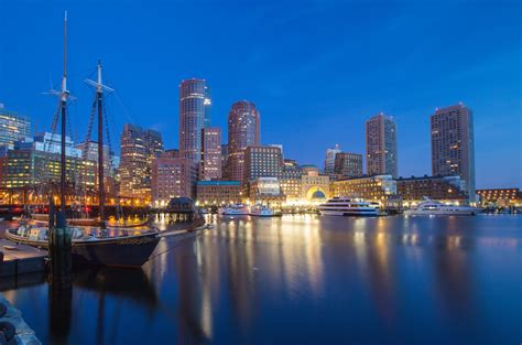Boston Harbor Wallpaper Wallpapersafari