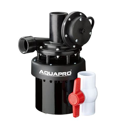 laundry sink pump reviews superior pump 1 5 hp submersible thermoplastic utility