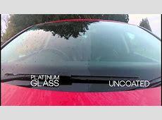 Carbon Collective Platinum Glass Ultra Hydrophobic Glass