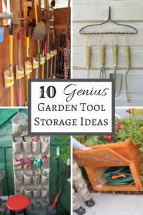 10 genius garden tool storage ideas the handyman s
