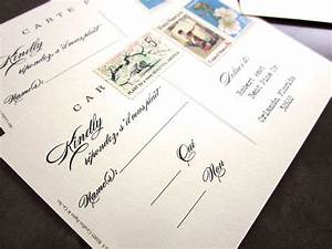 Christina39s blog edging tiers of a wedding cake creates a for Wedding rsvp cards stamps