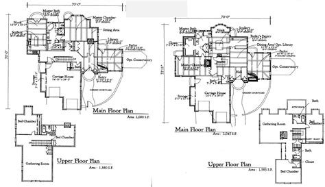 unique    storybook cottage floor plans design