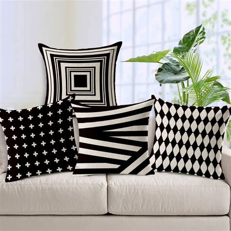 where to buy sofa pillows aliexpress com buy decorative throw pillows case black