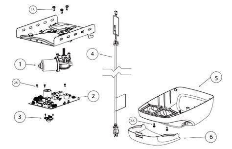 Mmtc Garage Door Opener Wiring Diagram by Garage Door Opener Parts For The Genie G Power 900 And