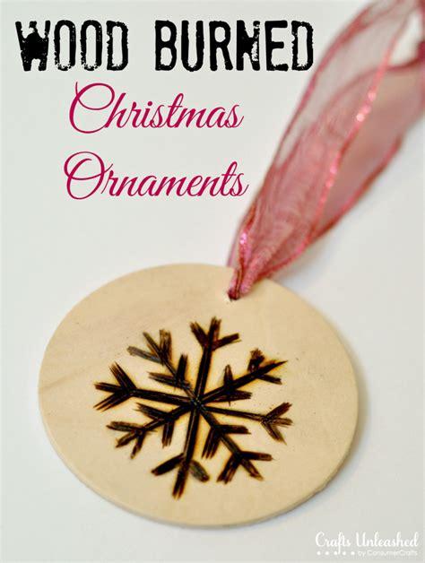 christmas ornaments wood burned ornament tutorial