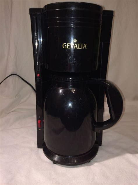 Get it as soon as thu, apr 22. Gevalia Thermal Carafe Coffee Maker - The Coffee Table