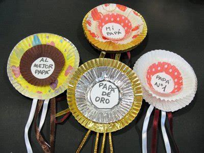 medallas para el d 237 a padre manualidades para ni 241 os