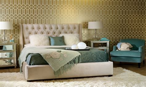 bedroom ideas wallpaper decorating ideas bedroom gold and teal bedroom