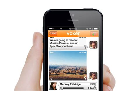 voxer   imessage features  ios    arent worried trutower