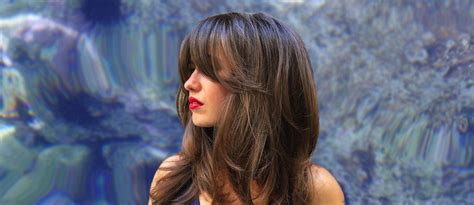 Long Hair With Bangs Styling Ideas