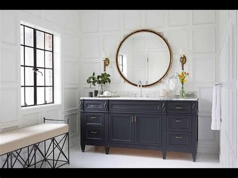 navy blue bathroom vanity youtube