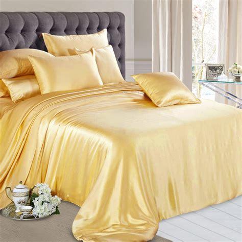 gold silk sheet