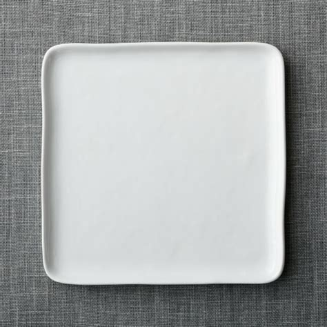 Viereckige Teller by Mercer Square Dinner Plate Crate And Barrel