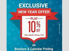 New Year Special Offer! Save 10% on Brochure & Calendar