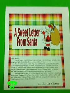 hershey bar personalized santa letter everyday parties With personalised santa letter printable