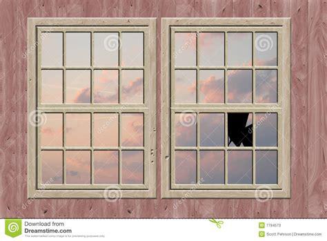 broken window stock illustration image  drawing