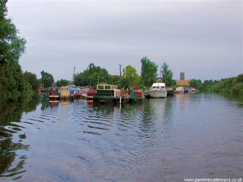 Strawberry Island Boat Club by Doncaster Canal Trip Along The Sheffield And