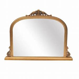 Abrielle French Style Gold Overmantle Mirror - La Maison Chic