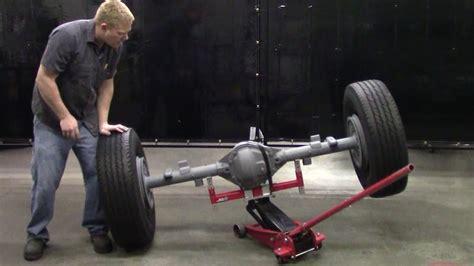 Axle Demonstration For Floor Jacks