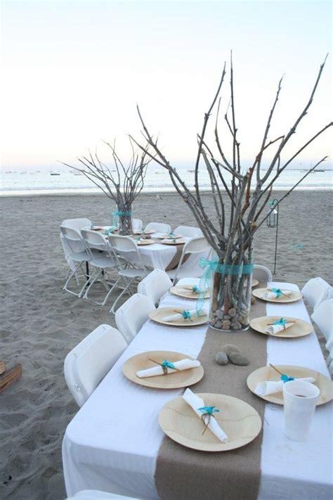 exemples pour la table de mariage decoration marine