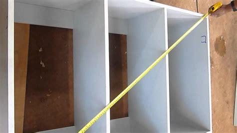 armando mueble en melamina como hacerlo youtube