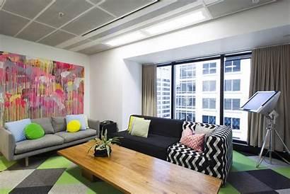Sydney Offices Siren Office Lounge Interior Facebooks