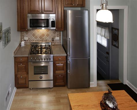 Small Kitchen With