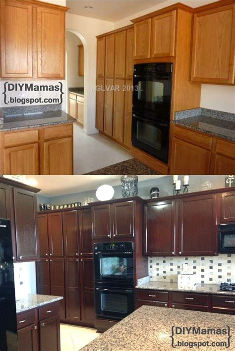 staining cabinets darker without sanding can you stain kitchen cabinets design decoration