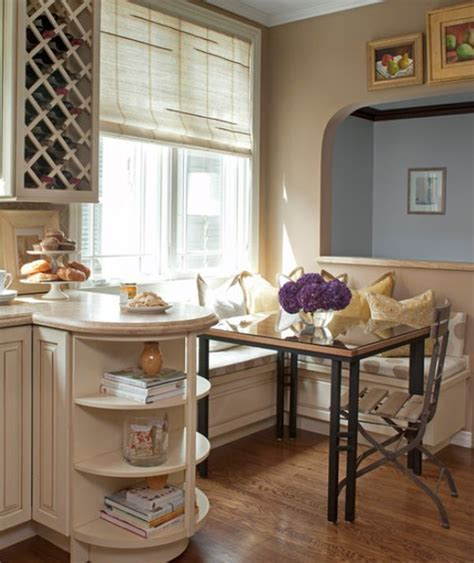 13 Cozy, comfortable and delightful breakfast nooks for