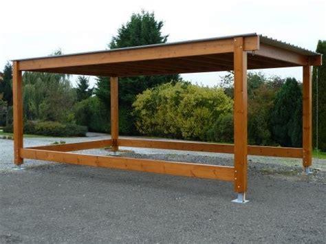 pergola adossee bois kit carport pergolas garage en bois carport