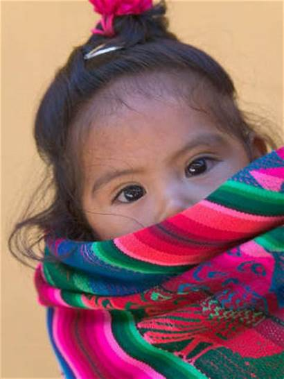 Peru Cusco Peruvian Young Indian Portrait Keren