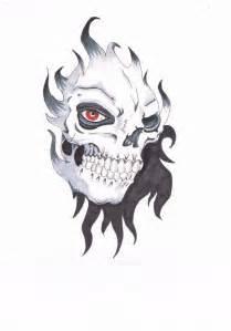 Skull Flash Art
