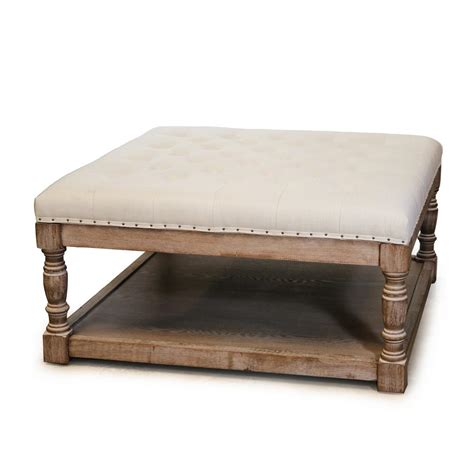 Tufted Ottomans by Warehouse Of Cairona Tufted Ottoman El1668