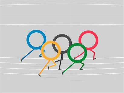 Olympic Olympics Games Dribbble Ed Opening
