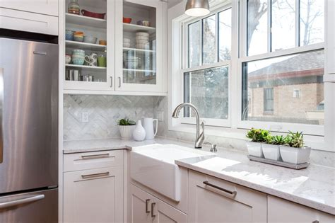 white kitchen cabinets quartz countertops white shaker cabinets trendy in ny 1805