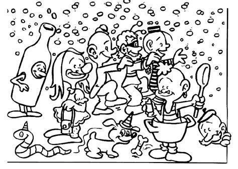 Kleurplaat Carnaval Groep 3 by Carnaval Speciale Dagen Kleurplaat 187 Animaatjes Nl